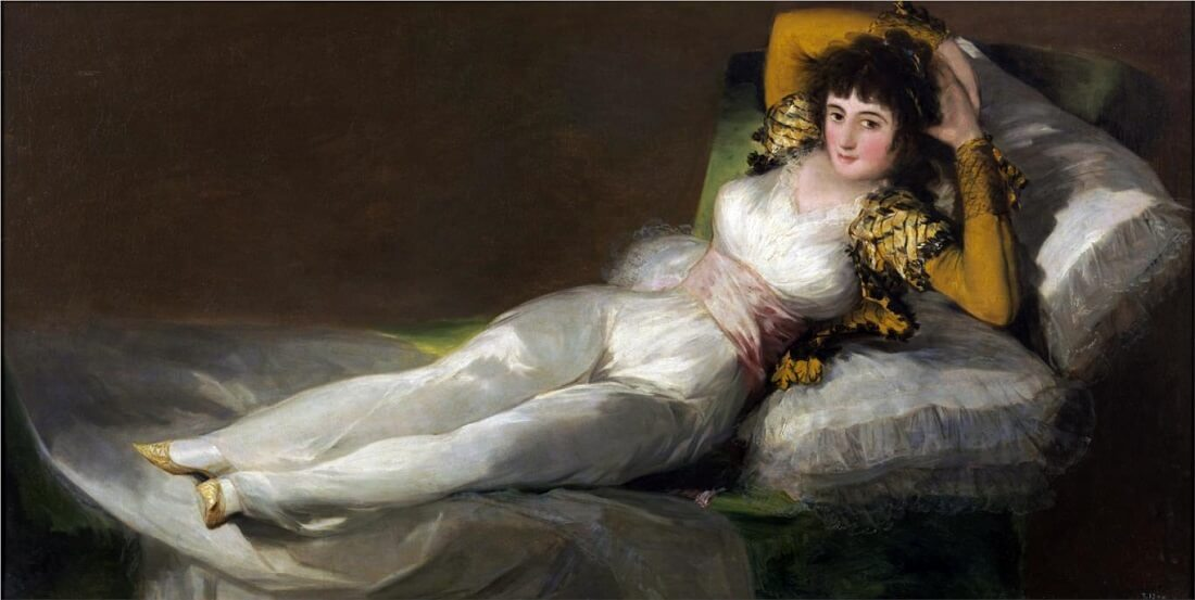 Clothed Maja, 1800-1805 by Francisco Goya