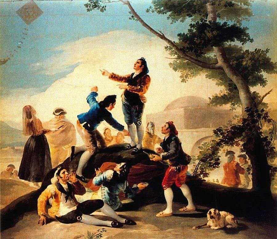La Cometa By Francisco Goya - Francisco goya paintings