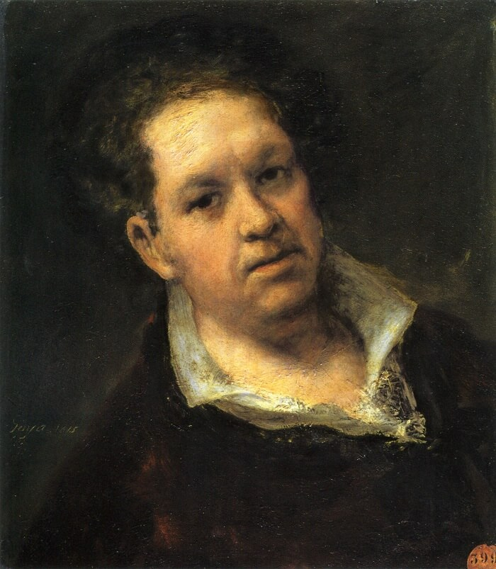 Self Portrait, 1915 by Francisco Goya
