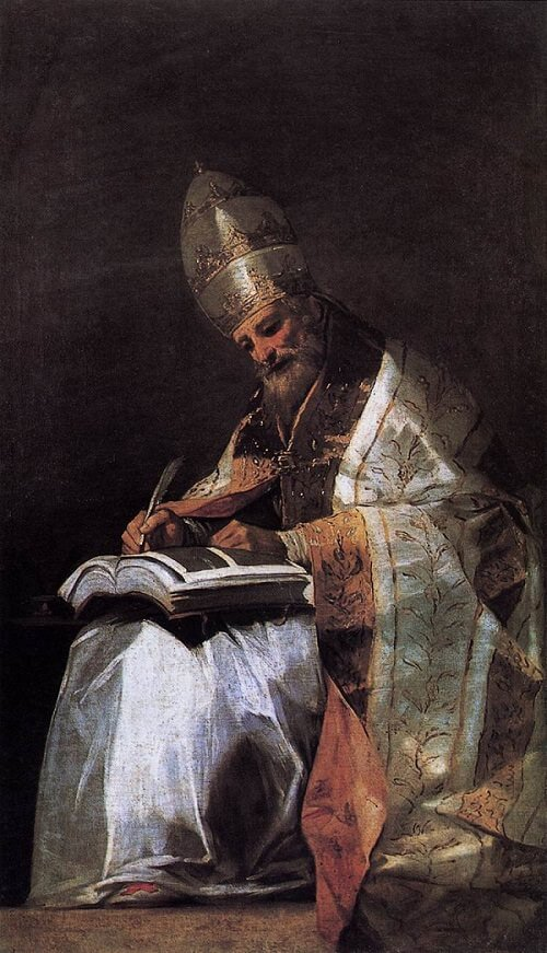 St Gregory, 1797 by Francisco Goya
