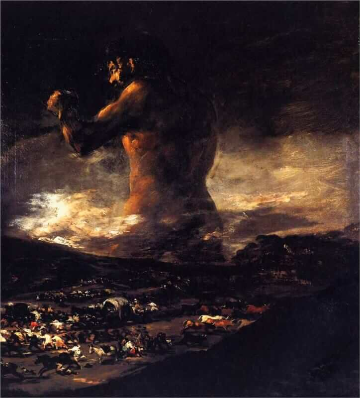 Image result for goya the giant