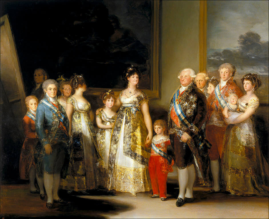 The Family of Charles IV, 1800 by Francisco Goya