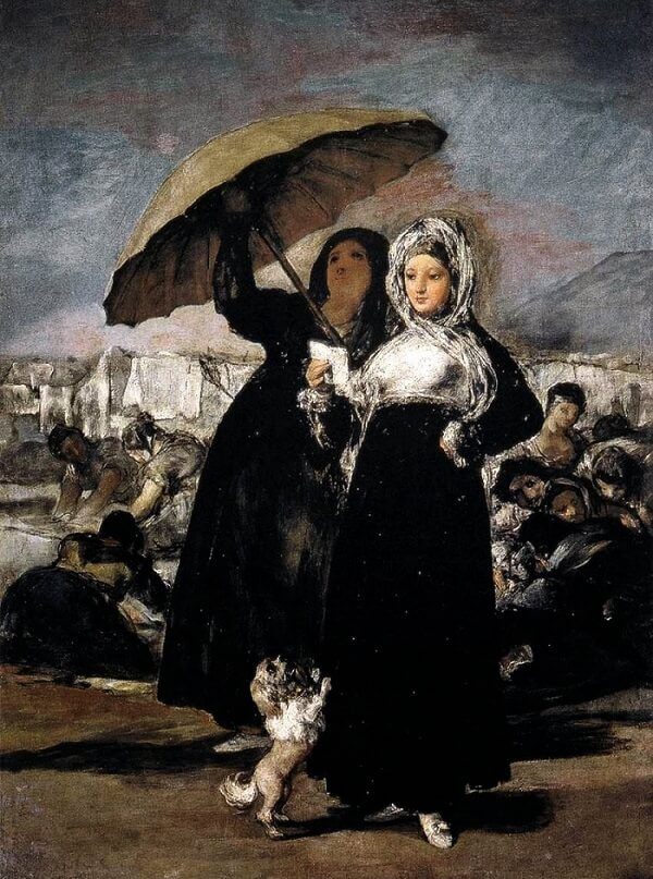 woman reading a letter 1812 by francisco goya
